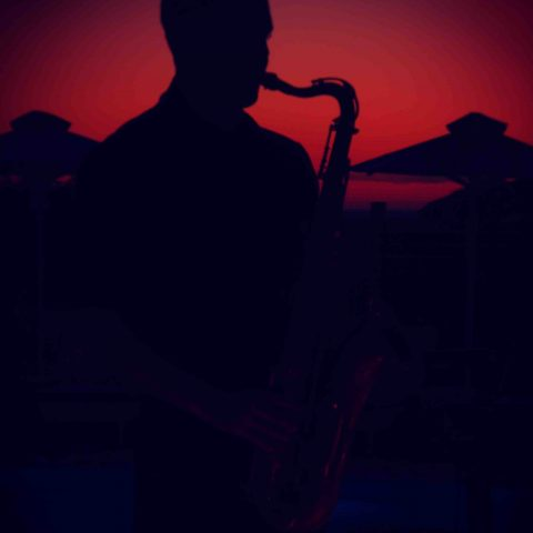 sunset sax deep house groove sax on the beach
