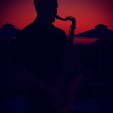 sunset sax deep house groove sax on the beach