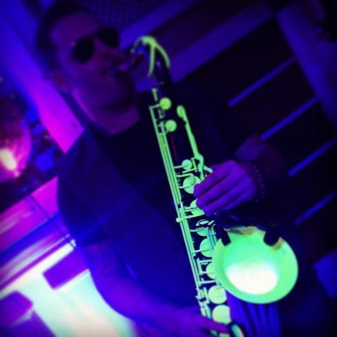 UV party neon glow