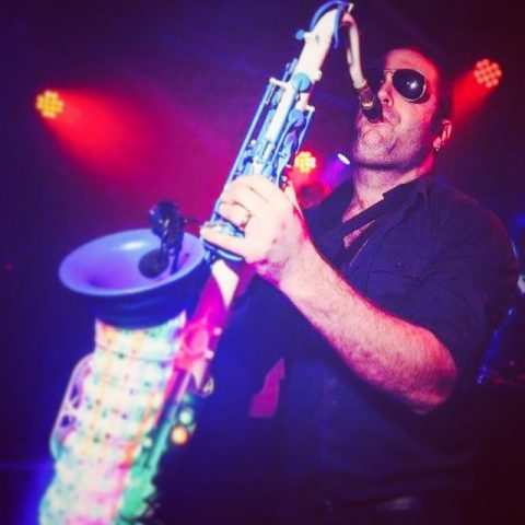Ibiza club sax player for events